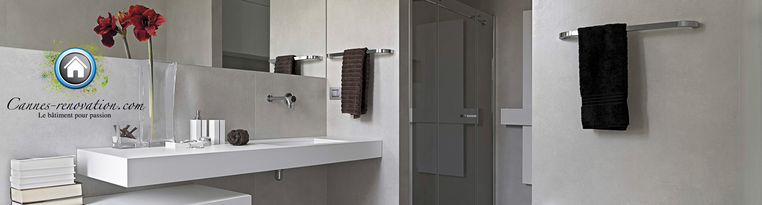 Les travaux d 39 une r novation de salle de bain r ussie for Renovation salle de bain