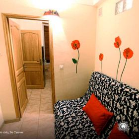 chambre avant rénovation appartement cannes