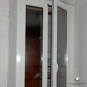 installation de fenêtres PVC oscillo-battantes