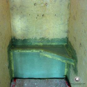 création d'un siège sous la douche