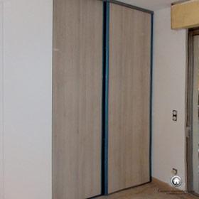 nouvelles portes aux placard